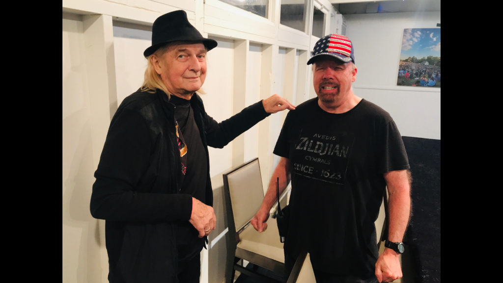 with Alan, summer 2019