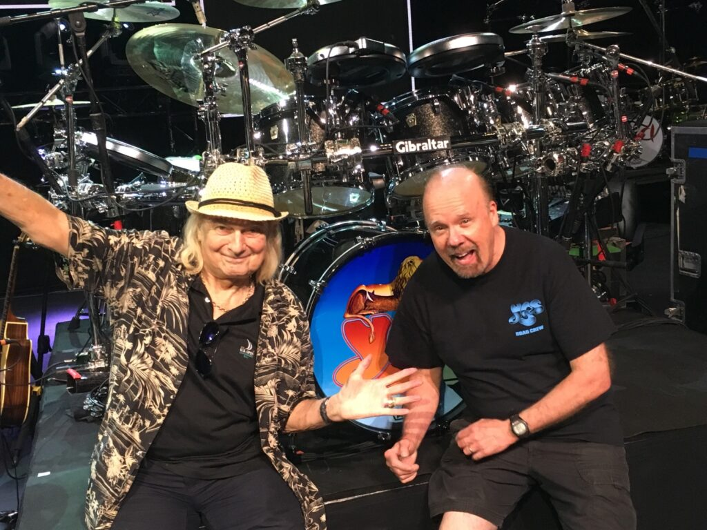 with Alan White, Summer 2019